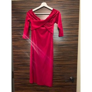 ZARA: Little Red Dress! Great fit.